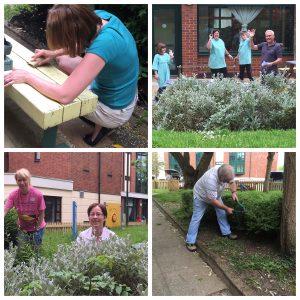 Volunteering with Mac House
